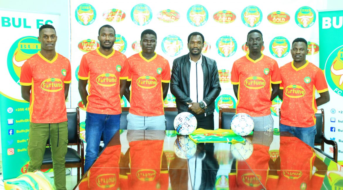 The five new players during unveiling function
